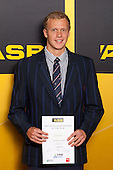 Boys Swimming winner Corey Main from Macleans College. ASB College Sport Young Sportsperson of the Year Awards held at Eden Park, Auckland, on November 24th 2011.