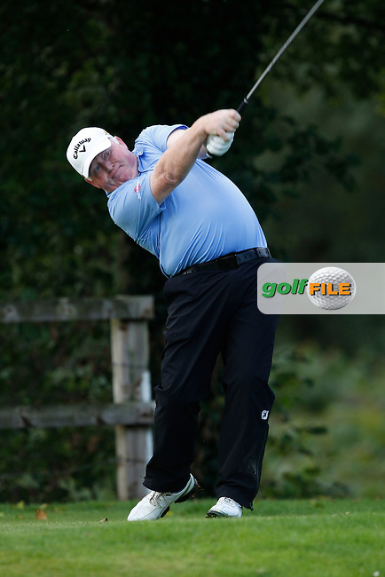 Brendan Mcgovern (Headfort) on the 3rd tee during Round 3 of the 104th Irish PGA Championship at Adare Manor Golf Club on Saturday 4th October 2014.<br /> Picture:  Thos Caffrey / www.golffile.ie