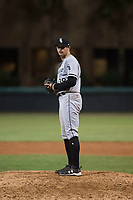 AZL White Sox relief pitcher Hunter Kiel (38) prepares to deliver a pitch during an Arizona League game against the AZL Dodgers at Camelback Ranch on July 7, 2018 in Glendale, Arizona. The AZL Dodgers defeated the AZL White Sox by a score of 10-5. (Zachary Lucy/Four Seam Images)