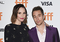 "TORONTO, ONTARIO - SEPTEMBER 08: Sam Rockwell and Leslie Bibb attends the ""Jojo Rabbit"" premiere during the 2019 Toronto International Film Festival at Princess of Wales Theatre on September 08, 2019 in Toronto, Canada. <br /> CAP/MPIIS<br /> ©MPIIS/Capital Pictures"