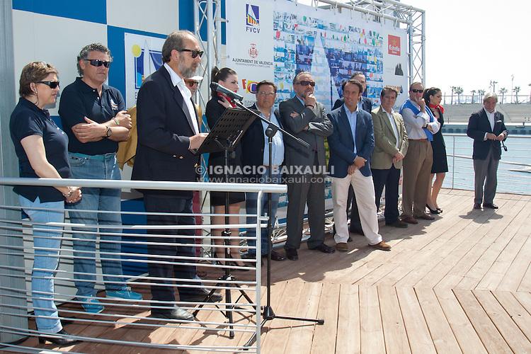 Fiesta de la Vela de la Comunidad Valenciana. Jornada de puertas abiertas de la Escuela Municipal de Vela. 25 aniversario de la Federación de Vela de la Comunidad Valenciana