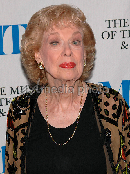 26 May 2005 - New York, New York - Joyce Randolph arrives at The Museum of Television and Radio's Annual Gala where Merv Griffin is being honored for his award winning career in radio and television.<br />