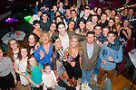21 kisses<br /> ------------<br /> Kristin McKenzie-Vass,Ballyroe,Tralee (front centre) had a fab night in O'Donnell's , Mounthawk,Tralee celebrating her 21st birthday along with her family and friends
