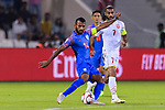 Pronay Halder of India (L) in action during the AFC Asian Cup UAE 2019 Group A match between India (IND) and Bahrain (BHR) at Sharjah Stadium on 14 January 2019 in Sharjah, United Arab Emirates. Photo by Marcio Rodrigo Machado / Power Sport Images