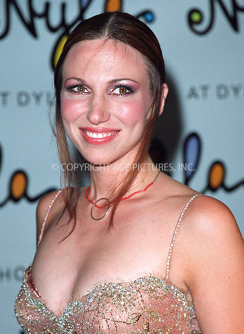 Deborah Gibson arrives at the opening of Britney Spears' restaurant Nyla at New York's Dylan Hotel. June 27, 2002. Please byline: Alecsey Boldeskul/NY Photo Press.   ..*PAY-PER-USE*      ....NY Photo Press:  ..phone (646) 267-6913;   ..e-mail: info@nyphotopress.com
