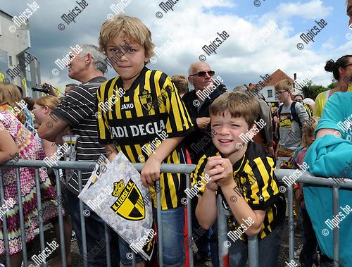2012-07-21 / Voetbal / seizoen 2012-2013 / Fandag SK Lierse / De spelers werden voorgesteld aan de supporters. ..Foto: Mpics.be