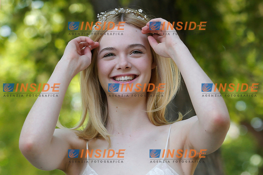 Elle Fanning<br /> Roma 06-06-2016 Casa del Cinema. 'The Neon Demon' Photocall<br /> Photo Samantha Insidefoto