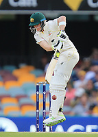 Steve Smith (Australia) - Photo SMPIMAGES.COM / newscorpaustralia.com - Action from the 1st Test of the 2017 / 2018 Magellan Ashes Cricket series between Australia v England played at the Gabba, Brisbane Australia. MANDATORY CREDIT/BYLINE : SWpix.com/PhotosportNZ