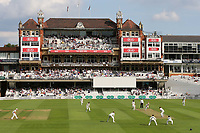 General view of The Micky Stewart Members Pavilion at The Oval during Surrey CCC vs Kent CCC, Specsavers County Championship Division 1 Cricket at the Kia Oval on 7th July 2019