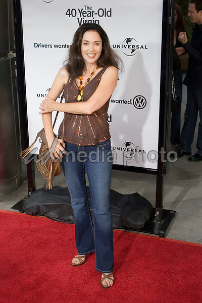"11 August 2005 - Los Angeles, California - Stepfanie Kramer.  ""The 40 Year-Old Virgin"" Los Angeles Premiere held at the Arclight Cinema.  Photo Credit: Zach Lipp/AdMedia"