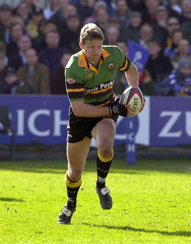 Photo: Greig Cowie.Zurich Premiership. Bath v Northampton. 15/03/2003.Nick Beal