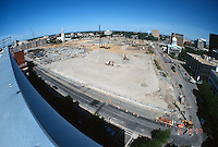 1997 June 05..Redevelopment..Macarthur Center.Downtown North (R-8)..LOOKING EAST.FROM FEDERAL BUILDING..NEG#.NRHA#..