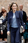 Princess Letizia of Spain visits the villages of Haro and San Millan de la Cogolla in La Rioja.May 14,2013. (ALTERPHOTOS/Acero)