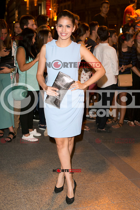 Sara Salamo attends the party of Nike and Roberto Tisci at the Casino in Madrid, Spain. September 15, 2014. (ALTERPHOTOS/Carlos Dafonte) /NortePhoto.com