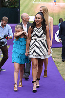 Heather Watson at the Women's Tennis Association 's (WTA) Tennis on The Thames evening reception at OXO2, London, UK. <br /> 28 June  2018<br /> Picture: Steve Vas/Featureflash/SilverHub 0208 004 5359 sales@silverhubmedia.com
