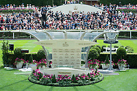 General view of the parade ring during The Coronation Stakes Day of Royal Ascot 2017 at Royal Ascot Racecourse on Friday 23rd June 2017 (Photo by Rob Munro/Stewart Communications)