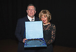 St Johnstone Hall of Fame Dinner, Perth Concert Hall...05.10.13<br /> Roddy Grant and wife<br /> Picture by Graeme Hart.<br /> Copyright Perthshire Picture Agency<br /> Tel: 01738 623350  Mobile: 07990 594431