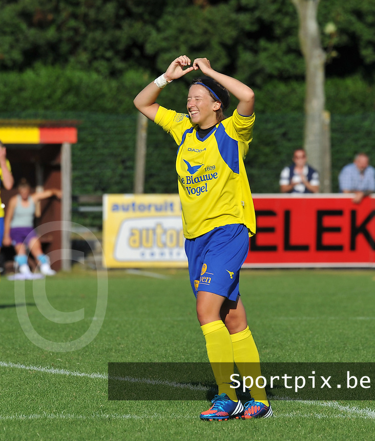 Beerschot Dames - STVV  Sint-Truiden VV Dames :. Annelies Menten.foto JOKE VUYLSTEKE / Vrouwenteam.be