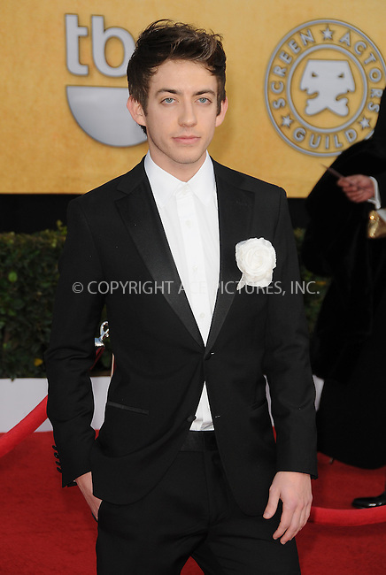 WWW.ACEPIXS.COM . . . . . ....January 30 2011, Los Angeles....Actor Kevin McHale arriving at the 17th Annual Screen Actors Guild Awards held at The Shrine Auditorium on January 30, 2011 in Los Angeles, CA....Please byline: PETER WEST - ACEPIXS.COM....Ace Pictures, Inc:  ..(212) 243-8787 or (646) 679 0430..e-mail: picturedesk@acepixs.com..web: http://www.acepixs.com
