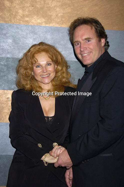 Susan Keith and James Kiberd..at the Rainbow Room at the celebration for All My Childrens's 35th Anniversary after a show at Town Hall benefitting Broadway Cares Equity Fights Aids on February 7, 2005. ..Photo by Robin Platzer, Twin Images