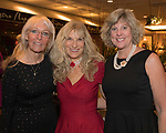 Ashley Burroughs, Elaine Cudnik and Katie Silva during the Junior League Poinsettia Luncheon at the Atlantis Casino Resort Spa in Reno, Thursday, Dec. 7, 2017.