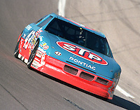 Richard Petty 43 action Winston 500 at Talladega Superspeedway in Talladega , AL in May 1989.  (Photo by Brian Cleary/www.bcpix.com)