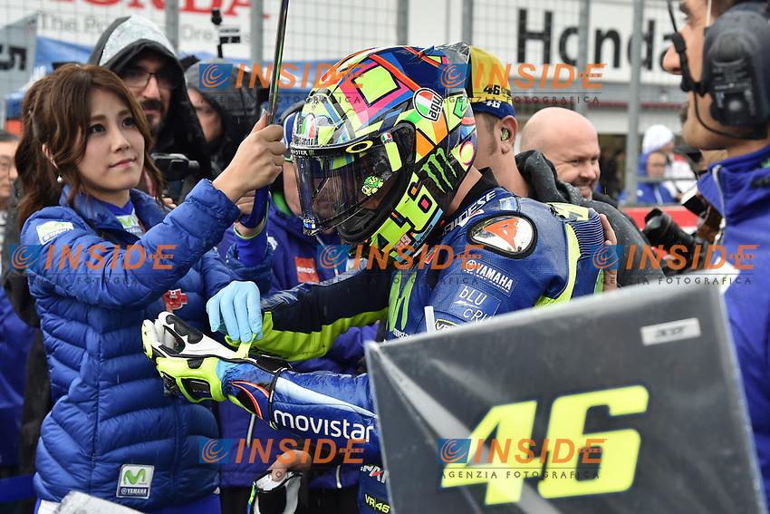 Motegi (Giappone) 15/10/2017 -  gara Moto GP / foto Luca Gambuti/Image Sport/Insidefoto <br /> nella foto: Valentino Rossi