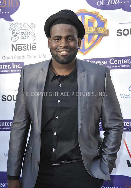WWW.ACEPIXS.COM....April 6 2013, LA....Trevin Hunte arriving at the Jenesse Center's 2013 Silver Rose Gala & Auction at Vibiana on April 6, 2013 in Los Angeles, California......By Line: Peter West/ACE Pictures......ACE Pictures, Inc...tel: 646 769 0430..Email: info@acepixs.com..www.acepixs.com
