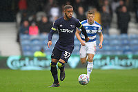 Jayden Bogle of Derby County during Queens Park Rangers vs Derby County, Sky Bet EFL Championship Football at Loftus Road Stadium on 6th October 2018