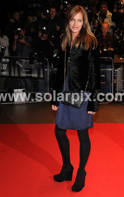 **ALL ROUND PICTURES FROM SOLARPIX.COM**.**WORLDWIDE SYNDICATION RIGHTS**.arrivals for the premiere of 'Anvil! The Story of Anvil' film at the 52nd BFI London Film Festival, London. held at the Odeon West End, Leicester Square on October 21, 2008..This pic: Trinny Woodall..JOB REF: 7653 SSD     DATE: 21_10_2008.**MUST CREDIT SOLARPIX.COM OR DOUBLE FEE WILL BE CHARGED* *UNDER NO CIRCUMSTANCES IS THIS IMAGE TO BE REPRODUCED FOR ANY ONLINE EDITION WITHOUT PRIOR PERMISSION*