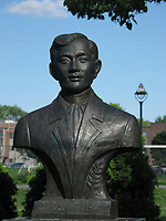 Montreal (Qc) CANADA, July 21, 2007<br /> <br /> Josee Rizal statue <br /> photo : (c) images Distribution
