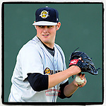 #OTD On This Day, May 23, 2015, starting pitcher Jordan Montgomery (34) of the Charleston RiverDogs struck out eight in seven innings to earn the win against the Greenville Drive at Fluor Field at the West End in Greenville, South Carolina. Montgomery was a fourth-round pick of the New York Yankees out of the University of South Carolina in the 2014 First-Year Player Draft. He has pitched with the Yankees since 2017. (Tom Priddy/Four Seam Images) #MiLB #OnThisDay #MissingBaseball #nobaseball #stayathome #minorleagues #minorleaguebaseball #Baseball #SallyLeague #AloneTogether