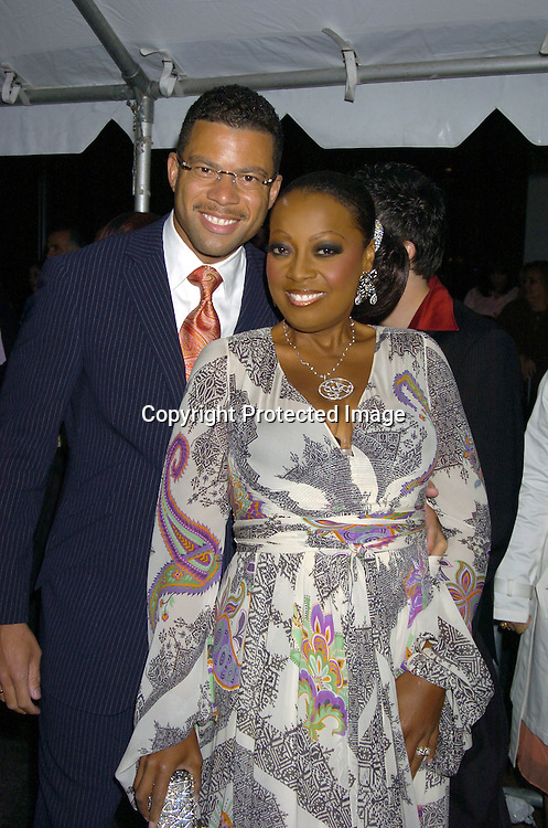 Al and Star Jones Reynolds ..arriving at The 32nd Annual Daytime Emmy Awards ..at Radio City Music Hall on May 20, 2005...Photo by Robin Platzer, Twin Images
