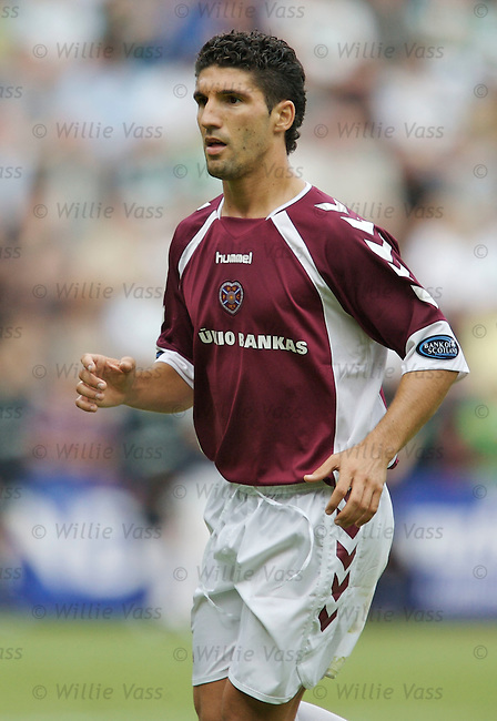 Bruno Aguiar, Hearts.stock season 2006-2007.pic willie vass