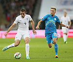 England's Jordan Henderson in action<br /> <br /> - International European Qualifier - England vs Slovenia- Wembley Stadium - London - England - 15th November 2014  - Picture David Klein/Sportimage