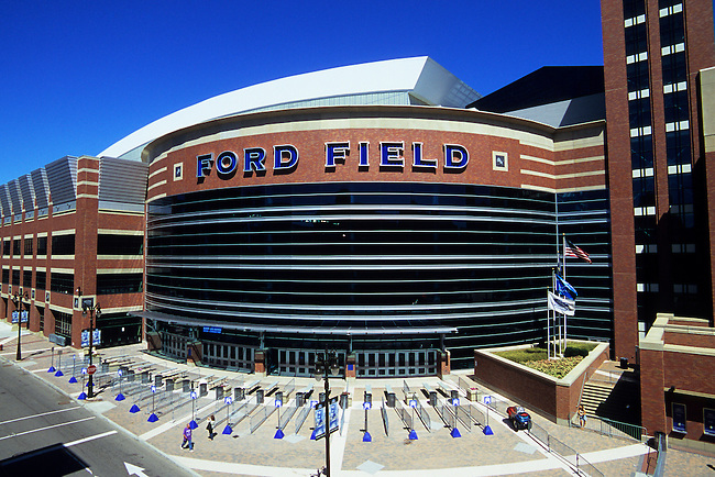 USA, MICHIGAN, DETROIT, FORD FIELD