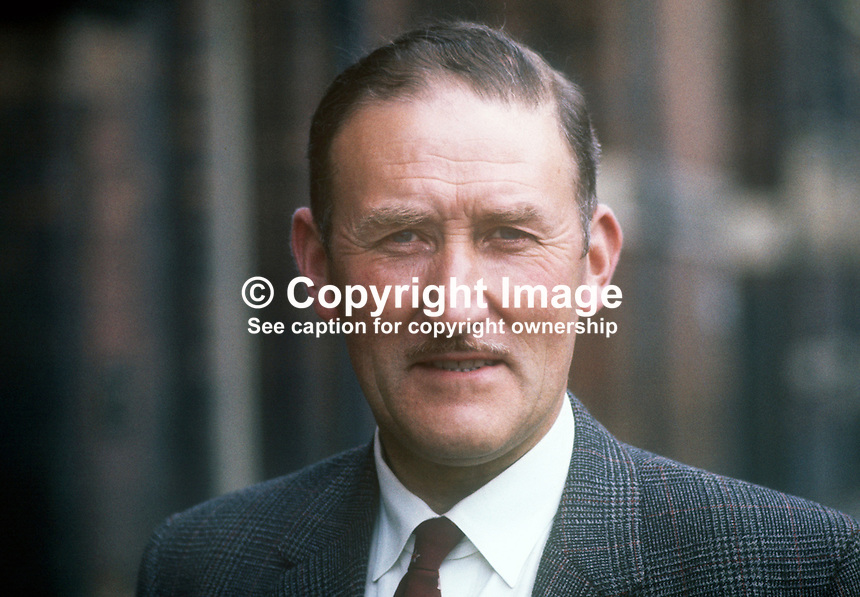 John Edward Maginnis, Ulster Unionist, candidate, Armagh, UK General Election, 18th June 1970. 197005000180<br />