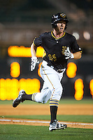 Bradenton Marauders left fielder Jordan Luplow (26) during a game against the Lakeland Flying Tigers on April 16, 2016 at McKechnie Field in Bradenton, Florida.  Lakeland defeated Bradenton 7-4.  (Mike Janes/Four Seam Images)