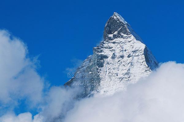 Matterhorn peak, Zermatt, Valais, Switzerland