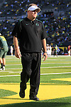 10/02/10-- Oregon head coach Chip Kelly..Photo by Jaime Valdez......