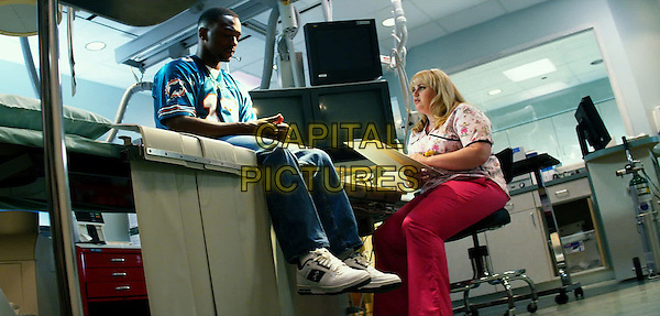 Anthony Mackie &amp; Rebel Wilson<br /> in Pain &amp; Gain (2013) <br /> *Filmstill - Editorial Use Only*<br /> CAP/FB<br /> Supplied by Capital Pictures