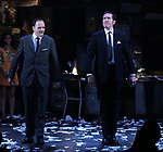 "during the Broadway Opening Night Curtain Call for ""Ink"" at the Samuel J. Friedman Theatre on April 24, 2019  in New York City."