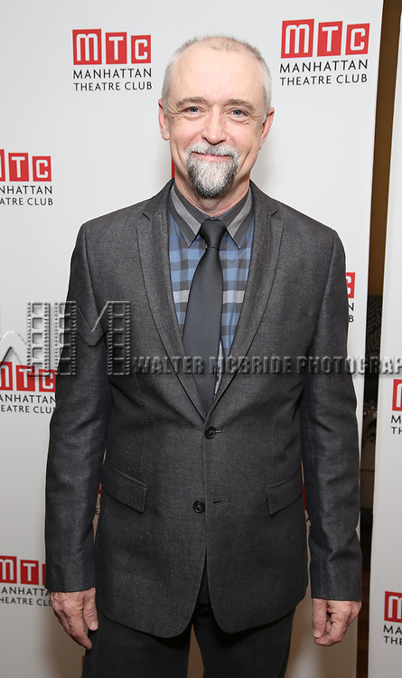 David Alford attending the Broadway Opening Night After Party for 'The Little Foxes' at the Copacabana on April 19, 2017 in New York City.