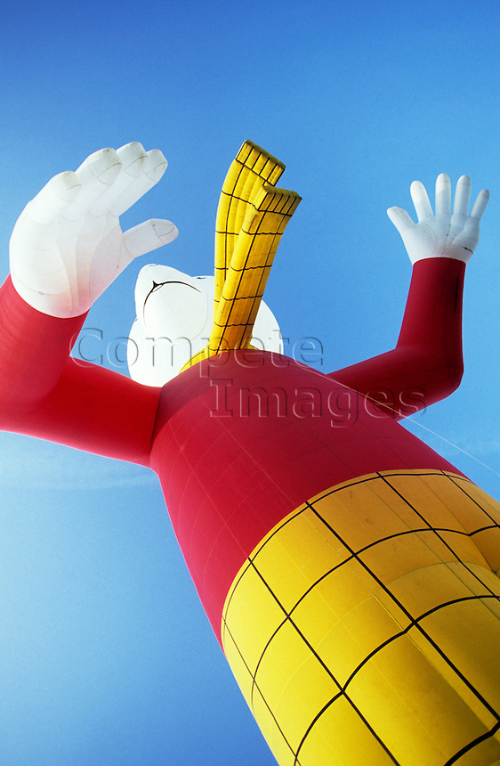 Rupert the Bear hot air balloon