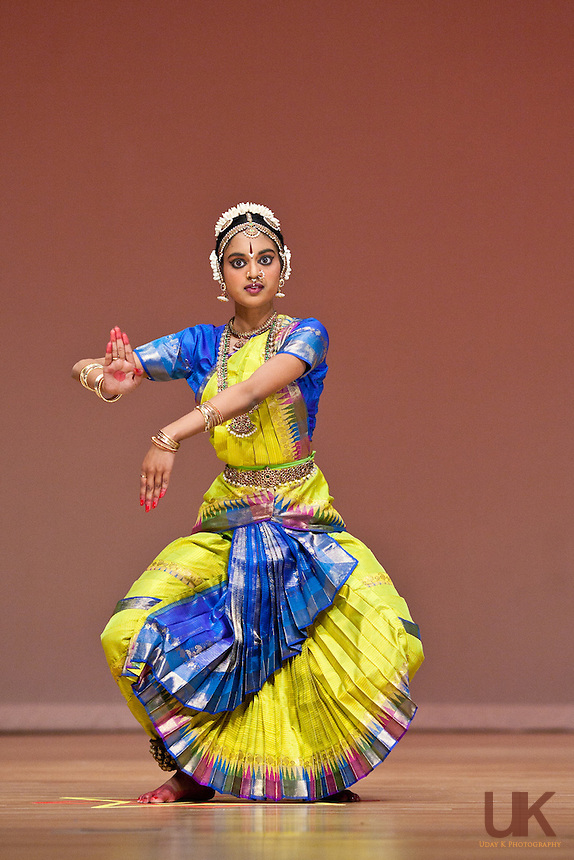 Kavitha during her Arangetram performance at the Granville Arts Center, Sep 5th, 2010