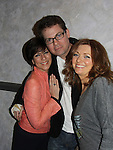 Colleen Zenk, Trent Dawson, Anne Sayre attend My Big Gay Italian Wedding on March 18, 2011 (also 3-17- & 3-20) at St. Luke's Theatre, New York City, New York. (Photo by Sue Coflin/Max Photos)