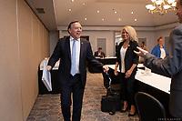 Conference de presse de Francois Legault durant la crise du COVID-19,<br /> le 7 juillet 2020<br /> <br /> PHOTO : Emilie Nadeau, Cabinet du Premier Ministre