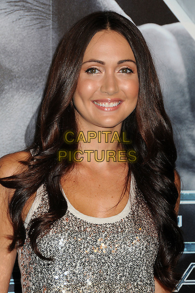 "Jessica Chobot.""X-Men: First Class"" Blu-Ray/DVD Release Party held at the Roosevelt Hotel, Hollywood, California, USA..September 8th, 2011.headshot portrait white top silver sleeveless sequins sequined .CAP/ADM/BP.©Byron Purvis/AdMedia/Capital Pictures."
