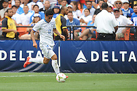 Washington D.C. - May 31, 2015: Honduras defeated El Salvador 2-0 to win the Delta Cup at RFK Stadium.