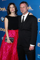 CENTURY CITY, CA - JANUARY 25: Betsy Brandt, Grady Olsen at the 66th Annual Directors Guild Of America Awards held at the Hyatt Regency Century Plaza on January 25, 2014 in Century City, California. (Photo by Xavier Collin/Celebrity Monitor)